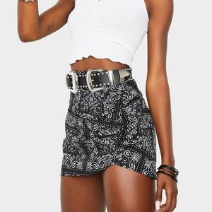 NWT re:named mini skirt